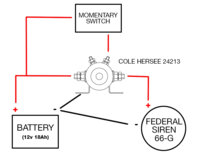 Federal Siren Wiring Diagram - Wiring Schematics on